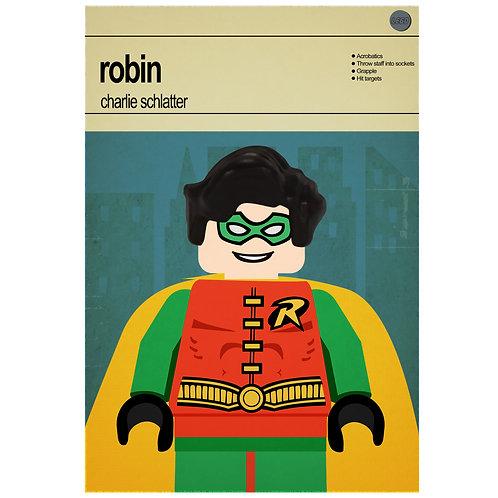Lego Super Heroes - Robin - Photo Print