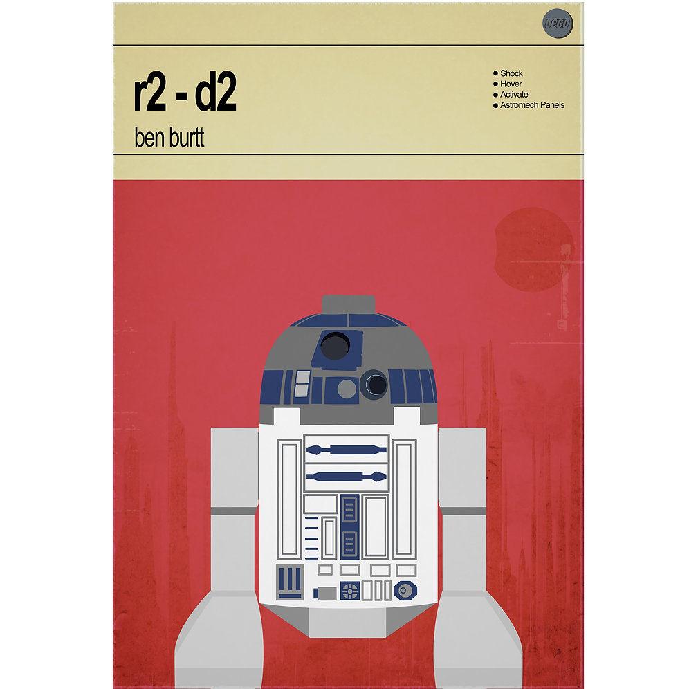 Lego Star Wars - R2D2 - Photo Print | mysite-3
