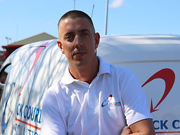 Tony Goodwin, CK Couriers Team Member