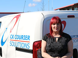 CK Couriers Financial Director Michelle Lee