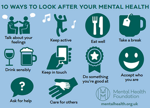 Mental health tips to help you feel better about yourself.