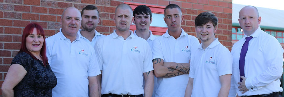 The CK Couriers Liverpool team.