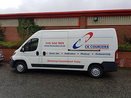 Large Courier Panel Van