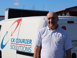 Ian Peers, CK Couriers Team Member