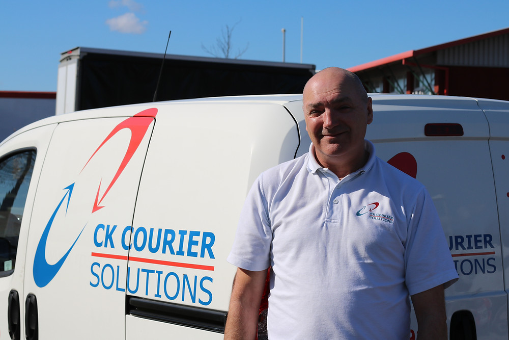Ian Peers, CK Courier Solutions.