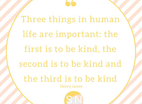 Kindness and compassion