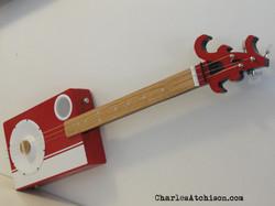 Alabama 3 string resonator guitar