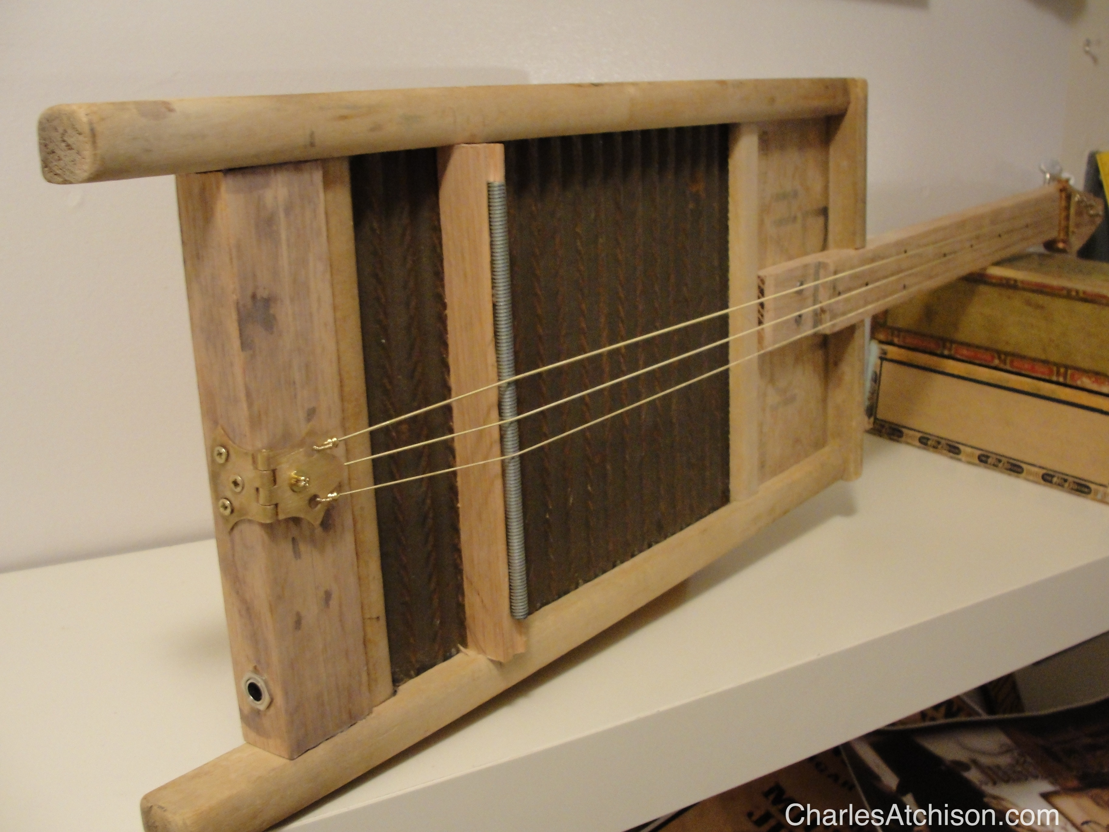 3 string Washboard Guitar