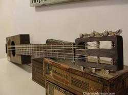 6 string cigar box guitar