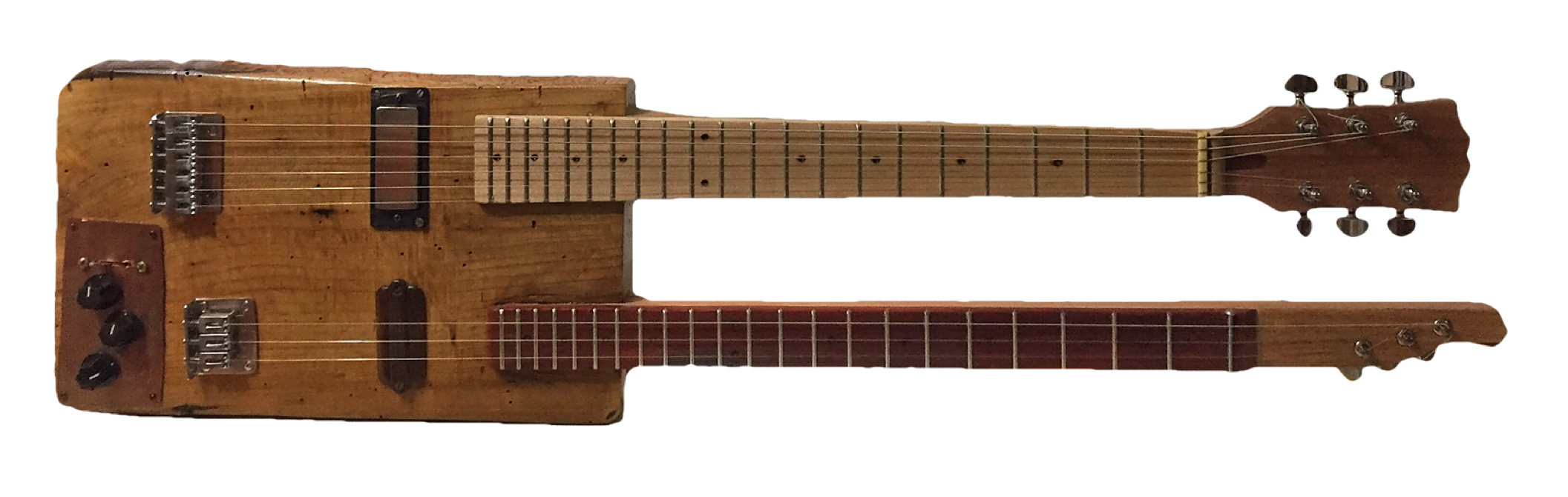 Double neck guitar Charles Atchison