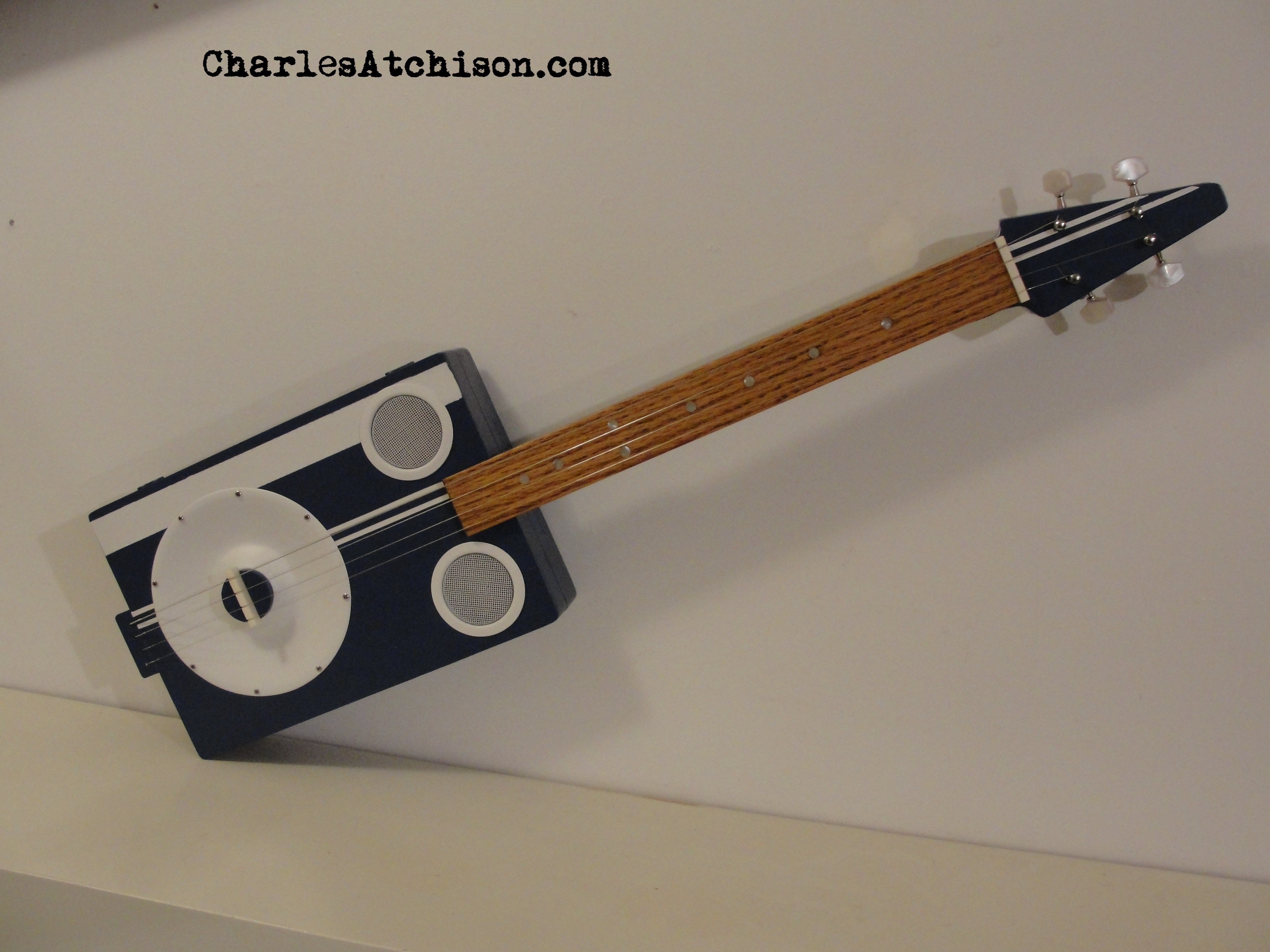 4 String Resonator Cigar Box Guitar