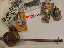 Gas Can 2 string bass