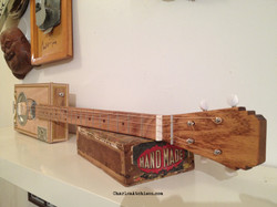 4 string cigar box guitar resonator