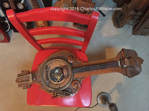 Baromitar Barometer Guitar by Charles Atchison