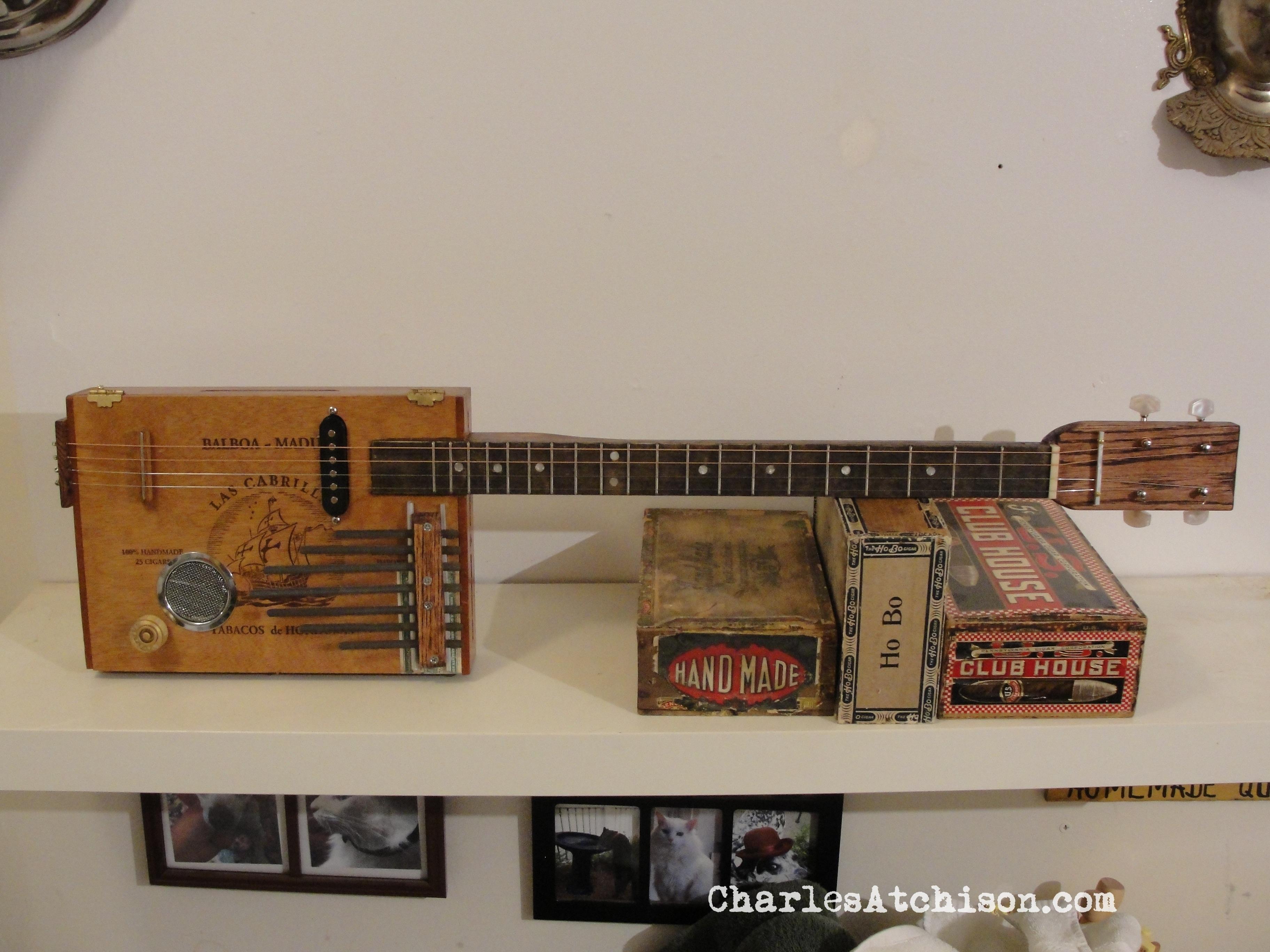 Kalimba, Cajon, Guitar