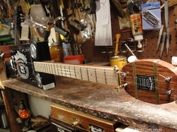 Jack Daniels Cigar Box Guitar