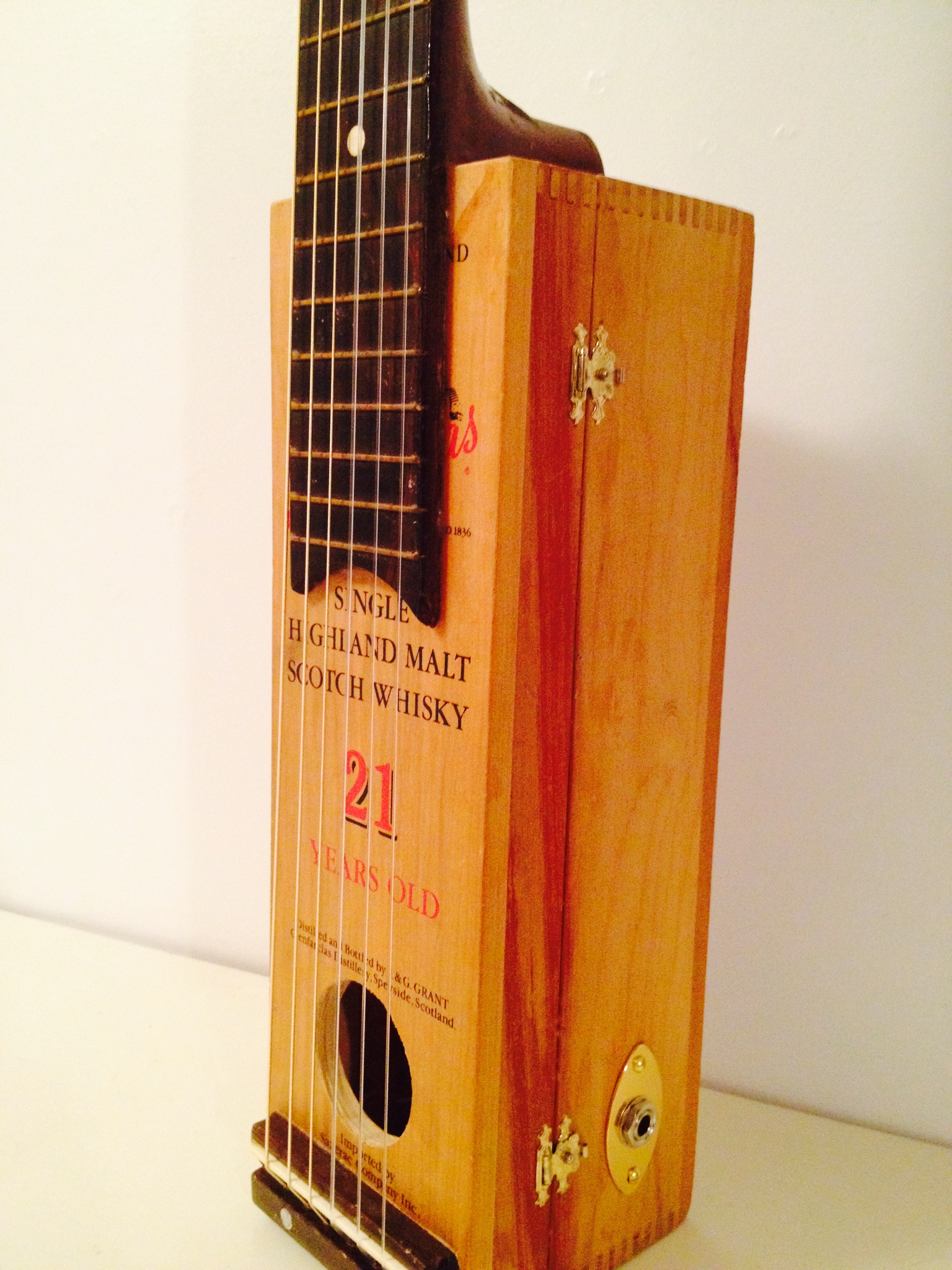 Whiskey Box Classical Guitar