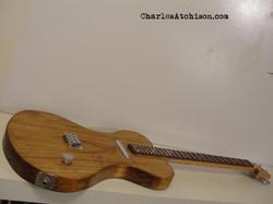 Pine Body Tenor guitar