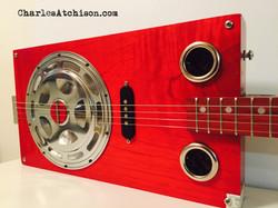 4 String Cigar Box Resonator Guitar