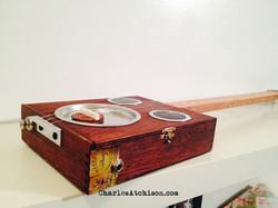 3 string cigar box guitar resonator