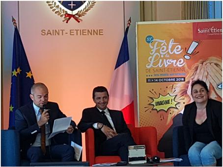 Conférence de Presse de la 33e FÊTE DU LIVRE de ST ETIENNE