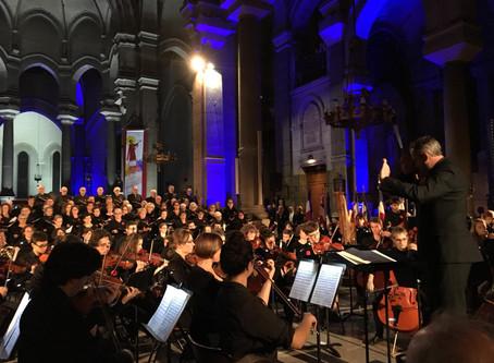 Concert de la ''Messe de la Délivrance'' en l'église ST CHARLES