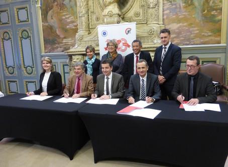 Signature Convention des France ELITE d'Athlétisme 2019