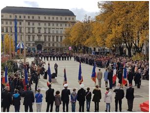 Cérémonie Commémoration Armistice 14-18