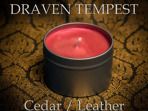 Character Candle (DRAVEN TEMPEST)