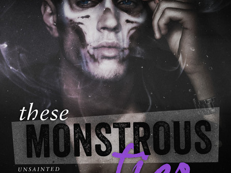 """""""These Monstrous Ties"""" by K.V. Rose BOOK REVIEW"""