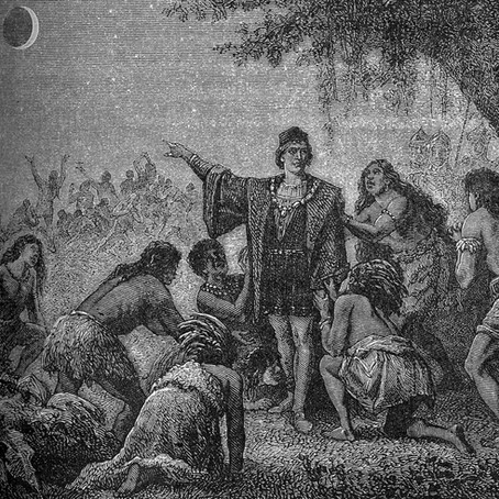 How Christopher Columbus used a Lunar Eclipse to manipulate Jamaican Natives