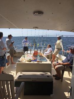 Chesapeake fishing trip