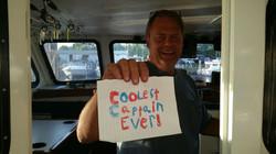 #Captain Chet, #Coolest Captain ever
