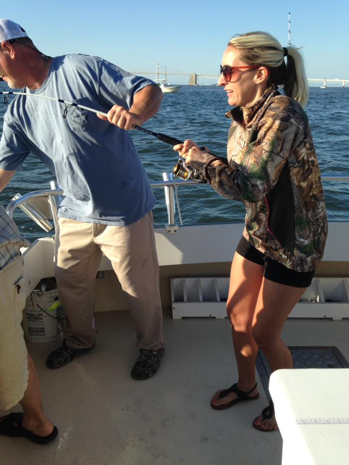 Chesapeake Bay Rockfishing