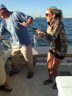 Chesapeake Bay Rockfishing