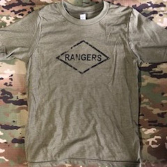 Youth Ranger Tee  OD Green