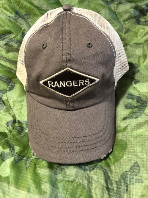 Ranger Trucker Hat Brown/distressed