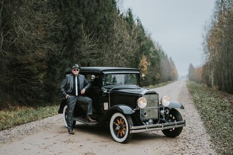 1931 Buick Classic Car and Ülo