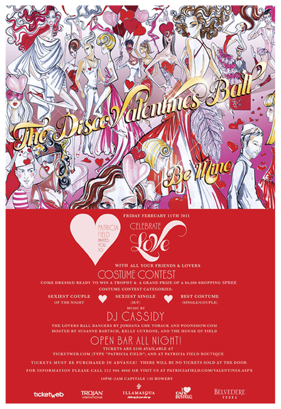Valentine's Ball Flyer