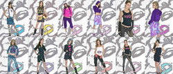 House of ROCAWEAR Collection - 2004