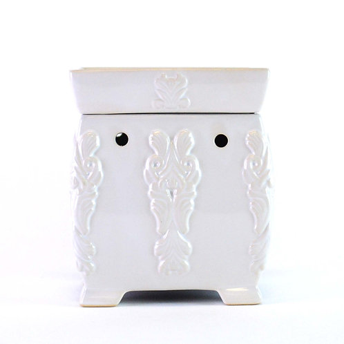 Grandeur White Wax Warmer