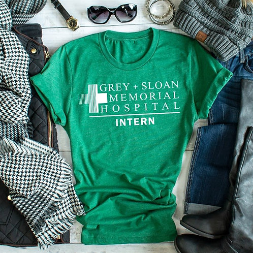 Grey's Anatomy Intern Tee