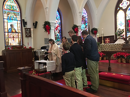 2018 baptism Steptoe Grandchild