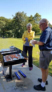 2019 picnic in the VA Park
