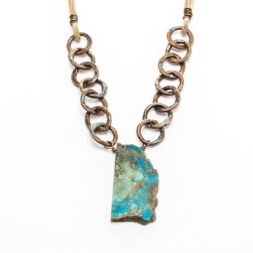 Turquoise Ravines Necklace