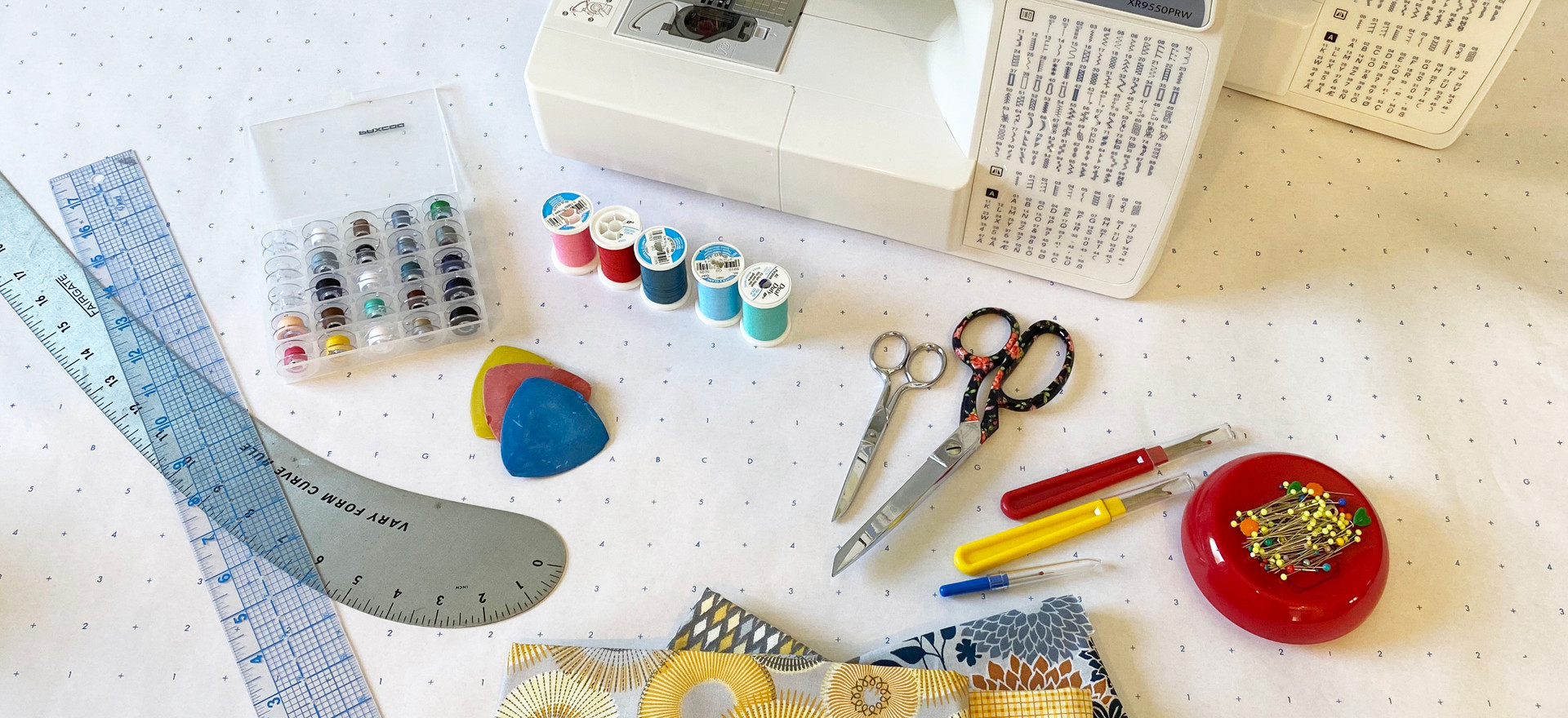 Bring your creative vision to life on the sewing machine!