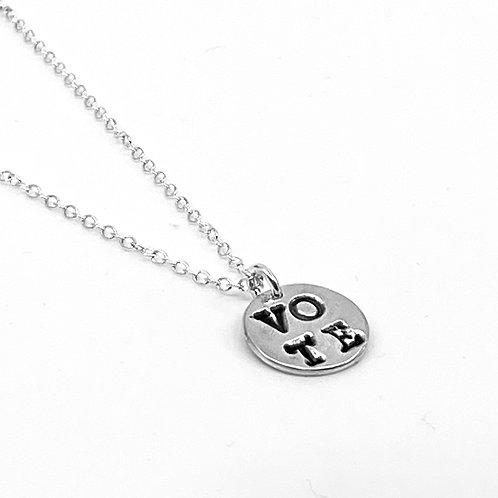 VOTE Charm Necklace