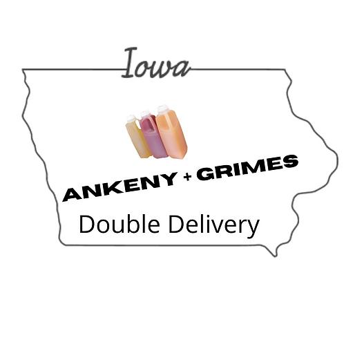 Ankeny + Grimes July double delivery-Please read full description