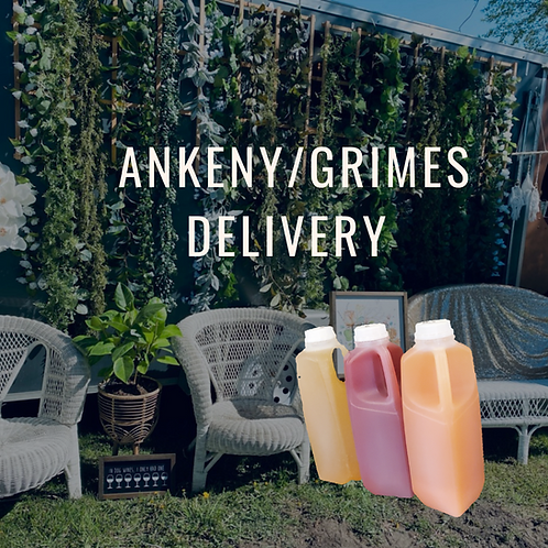 Ankeny + Grimes delivery- Please read full description