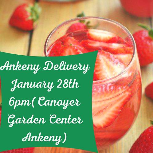 Ankeny Sangria Delivery-Please read FULL Description